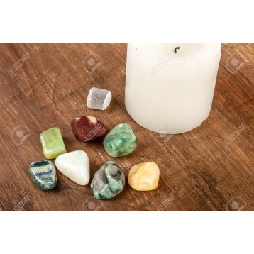 Cancer Support Crystal Stone Set
