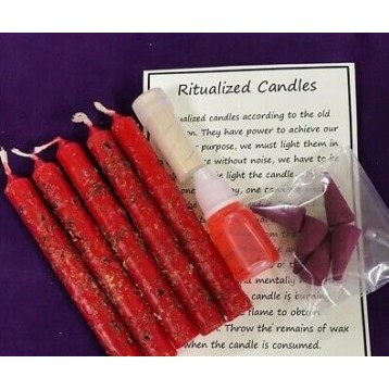 Seperation/Break-Up Magical Candle Kit.