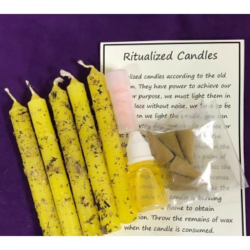 Success Magical Candle  Kit.