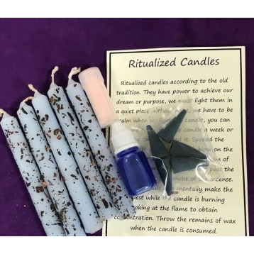 Protection Magical Candle   Kit.