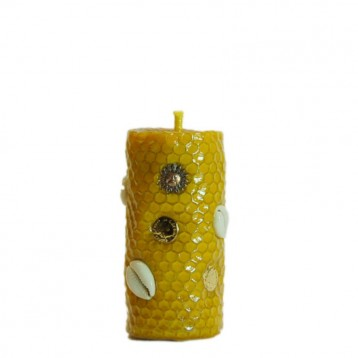 Osun! Deity Candle (medium)Orisha Oshun.