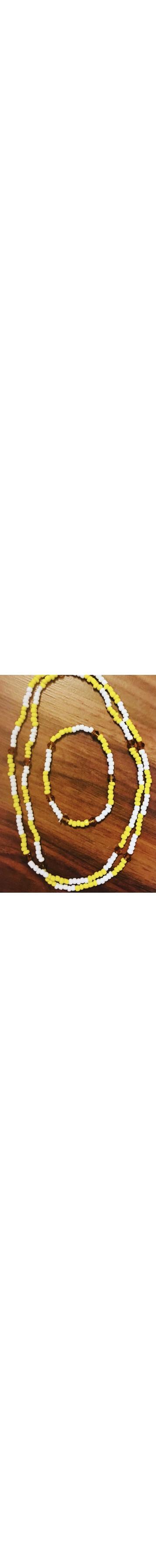 Orisha Osun Eleke Necklace/Ide Set (3)