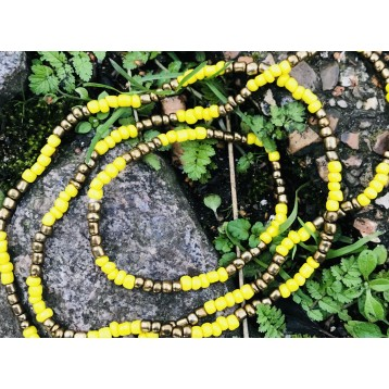 Orisha Osun Eleke Necklace/Ide Set (1)