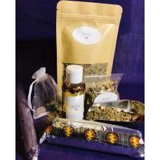 Law Overlook/Court Case Herbal Bathing Kit (Asegbe)